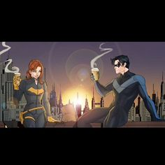 #Batgirl #Nightwing