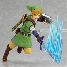 Cheap legend of, Buy Quality anime figurine directly from China legend of zelda Suppliers: Game Figma Legend of Zelda PVC Fighting Link Zelda Wind Waker Skyward Sword Anime Figurines Vinyl Doll Kids Toy Skyward Sword Link, Zelda Skyward, Link Zelda, The Legend Of Zelda, Link Action Figure, Action Figures, Nico Robin, Sword Anime, Videogames