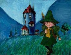 Snufkin leaving Moominvalley by Wichrzyciel