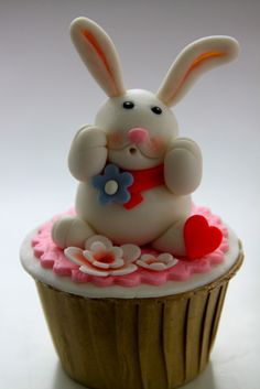 Rabbit Cupcake