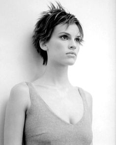 Hilary Swank - actresses Photo love her hair. Absolutely gorgeous