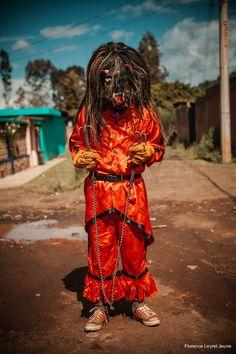 Diablos en la Pastorela de Tzurumutaro (Michoacan, Mexico)/