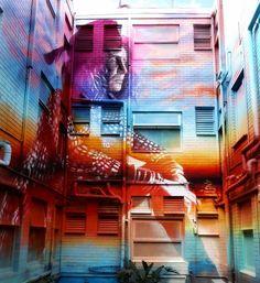 Streetart News [wall – Royyal Dog & Jay Flow, Pete Cto, Vhils Grafitti Street, Murals Street Art, Street Installation, 3d Painting, Wall Paintings, Best Street Art, Stencil Art, Outdoor Art, Public Art