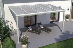 Alu Terrassenüberdachungen: Pulverbeschichtete Terrassendächer mit vielen Gestaltungsmöglichkeiten.