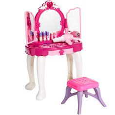 Dream Dazzlers Glamour Mirror Dresser with Chair [Exclusive to Toy's R Us] $49.99