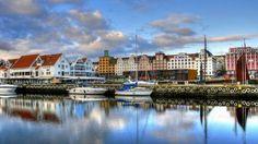 As exuberantes paisagens naturais da Noruega