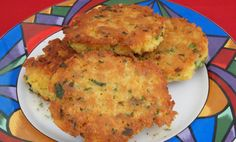 Chick Pea and Couscous Cakes