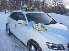 wedding car decoration #14