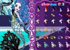 JuegosMonsterHigh.com - Juego: Freaky Fusion Sirena Von Boo - Jugar Juegos de Moda y Belleza Gratis Online