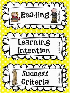 177 best learning targets success criteria images learning Effective Objective Statements paula s place learning intention freebie learning goals display learning target display learning targets