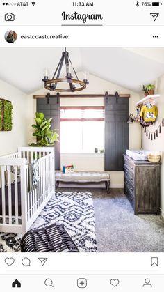 LOVE THIS IDEA OF SLIDING BARNWOOD DOORS OVER WINDOWS!