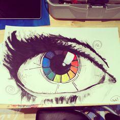 eye spy a color wheel by RainbowJarness.deviantart.com on @deviantART