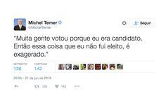 Internet se diverte com versoes alternativas de tuite de Michel Temer - Blue Bus