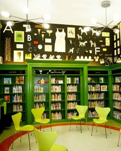 Inspirational school libraries from around the world – gallery  From a story garden in Cornwall to hexagonal towers in Los Angeles, we look at inventive spaces designed to get children excited about books