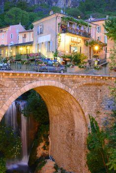 Moustiers-Sainte-Marie, Provence-Alpes-Côte d'Azur. One of the most beautiful places I've seen!