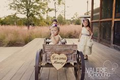 The Importance of Wedding Photography If there's ever one day in your life that comes close to being perfect, it's probably your wedding day. Look Wagon For Wedding, Wedding Pins, Diy Wedding, Wedding Day, Wedding Stuff, Flower Girl Wagon, Flower Girls, Winter Flower Girl, Old Wagons