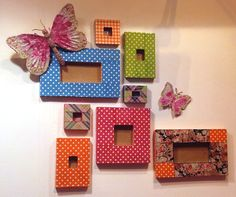 Decopatch picture photo frame decorating.