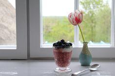 Erdbeer Overnight Oats mit Mascarpone-Quark