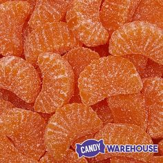 Delish—Orange Slices Jelly Candy Wedges How To Make Orange, Orange Candy, Sugar Crystals, Soda Fountain, Orange Slices, Wall Collage, Jelly, Counter, Delish