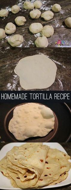How To Make Tortillas ~ A simple, budget friendly tortilla recipe
