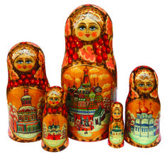 nesting doll cathedral design