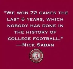 & with that, we say ROLL TIDE
