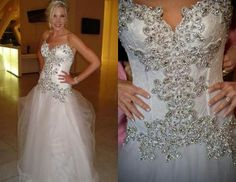 Panina Wedding Dresses Collections with Delightful Beads : Panina Wedding Dresses Corset