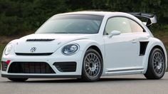 @brittneymadsen VW Beetle GRC - the 544hp Rallycross Beetle.