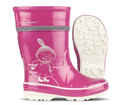 Nokian Footwear rubber boots for kids with adorable Moomin print. Available in four different colors and prints.
