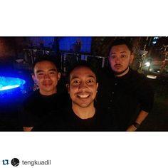 #Repost @tengkuadil  meeting malam pakai hitam.  @imranajmain @alifsleeq