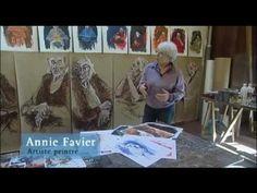 Les talents qui font Toulouse : Annie Favier, artiste peintre