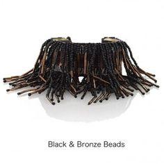 New way to use beads on a bracelet
