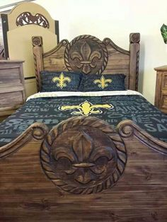 saints bed decor - google search | beds and beddings | pinterest