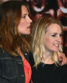 Lucy Lawless y Renee O'Connor