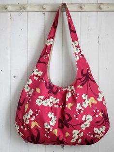 The Jasmine Bag Sewing Pattern Download from e-PatternsCentral.com -- The…