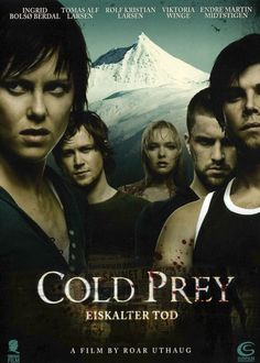 Cold Prey (2006) -- Snowboarders stranded at old hotel are pursued by serial killer. A delicious entry in this genre. The cast & acting are superior & the old hotel is creepylicious. Ingrid Bolsø Berdal is stunningly good, so much so I had to rewind certain scenes just for the joy of watching her. The only thing that would have made this film better is a larger gore quotient. Norwegian with English subtitles but don't let that stop you from checking it out. Mina Tepes Rating: 4.5 Fang...