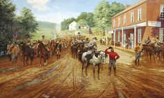 Serious Work Ahead by Dale Gallon. July 1, 1863 - General Robert E. Lee and General Ambrose Powell Hill in Cashtown on the way to Gettysburg. | Pinterest | Get… www.pinterest.com736 × 444Buscar por imagen Serious Work Ahead by Dale Gallon. July 1, 1863 - General Robert E. Lee and General Ambrose Powell Hill in Cashtown on the way to Gettysburg.