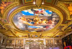 Where Earth Kisses Heaven - ceiling painting 561770 1280 - 20 Places where earth kisses heaven