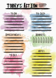 the stitch maker watercolour planner inserts wo2p daily lists