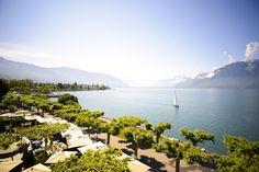 Hotel Des Trois Couronnes   Vevey, Switzerland