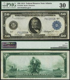 Federal Reserve Note 1963 B Rare Barr Signed One Dollar Star At The End New York Green Seal By R U S Notes Pinte