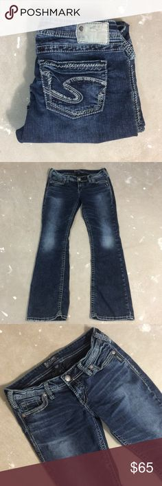 Silver Jeans Welcome to Thrift Happens,  All items listed in my closet are brand new, previously worn, and in excellent condition. I can take measurements if you are unsure of the sizes. Thank you for stopping in and please do not forget to follow & share.  @ThriftHappens. // IG @thrift_happens  Silver Jeans Jeans