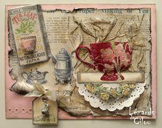 Tea Cup CARD 390 ° subscribed BLOG