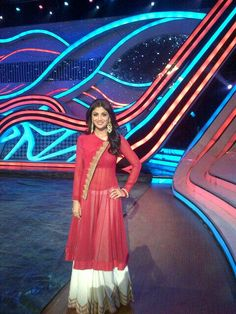 Shilpa Shetty in Anand Kabra - Dress with Pallazo Pants