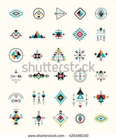Esoteric Alchemy Boho Bohemian Sacred Geometry Tribal And Aztec Sacred Geometry Mystic Shapes Symbols StockVektorgrafik Illustration 420496150 Shutterstock Simbolos Tattoo, Body Art Tattoos, Small Tattoos, Boho Tattoos, Shape Tattoo, Temp Tattoo, Tattoo Drawings, Tatoos, Art Drawings
