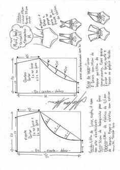 Maiô body that se transforma em vários modelos - DIY - molde, corte y costura - Marlene Mukai Sewing Dress, Dress Sewing Patterns, Love Sewing, Diy Dress, Sewing Clothes, Clothing Patterns, Diy Clothes, Underwear Pattern, Lingerie Patterns