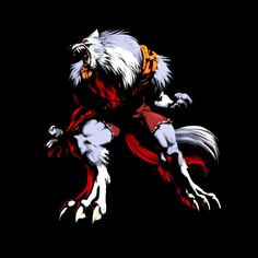 Bloody Roar II Art Yugo - Wolf