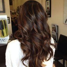 46 Creative Dark Brown Hair Color Highlights Ideas - VIs-Wed  hair color ideas for dark brown hair with highlights - Hair Color Ideas #Hair #with #HairColorIdeas