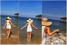 Hot day, warm sea, cold beer...it's the simple things:) #obx #outerbanks #kittyhawk #beach