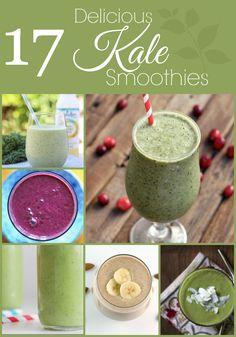 17 Delicious Kale Smoothies - Around My Family Table